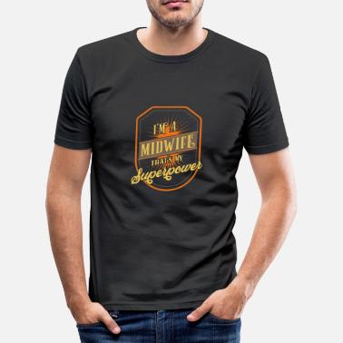 Midwife midwife - Men's Slim Fit T-Shirt