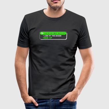 Funny Video Funny Video Gamer T-skjorte - Slim Fit T-skjorte for menn