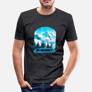 Mount Everest Mount Everest - Men's Slim Fit T-Shirt