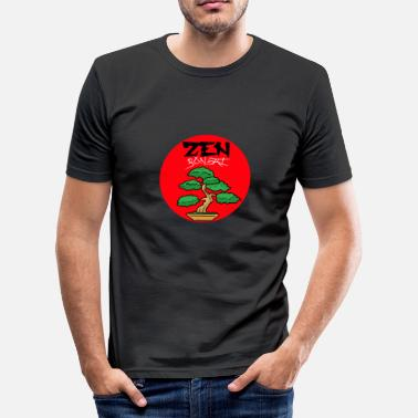 Bonsai Tree Bonsai tree - Men's Slim Fit T-Shirt