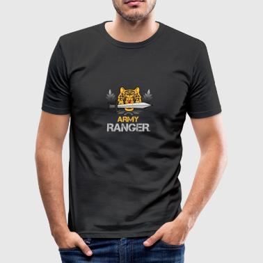 Rang army ranger - Männer Slim Fit T-Shirt
