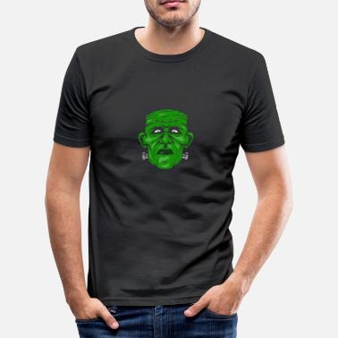 Frankenstein Arr Frankenstein Monster Science Fiction - Slim Fit T-skjorte for menn