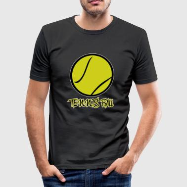 tennisbold - Herre Slim Fit T-Shirt