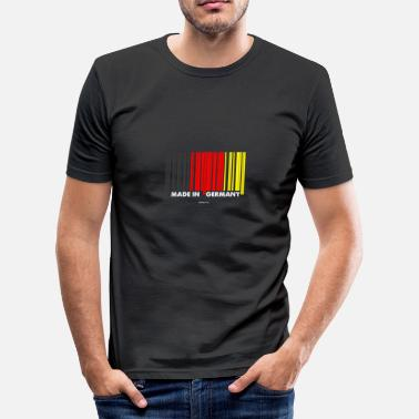 Deutschland Souvenirs Made in Germany gift - Men's Slim Fit T-Shirt
