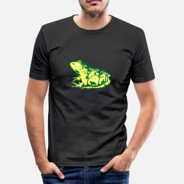 Göl Froggy Night - Slim Fit T-shirt herr