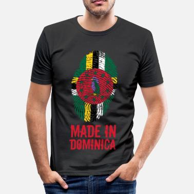 Caribbean Made In Dominica Caribbean - Men's Slim Fit T-Shirt