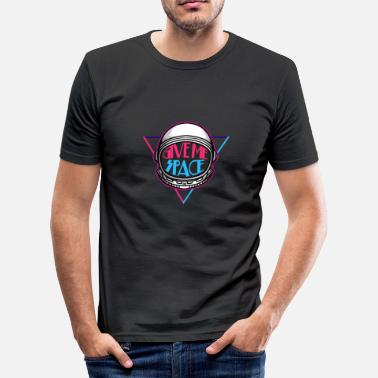 Space Space - space - space - space - saying - Men's Slim Fit T-Shirt