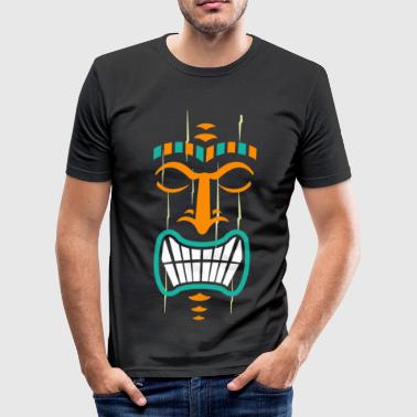 Tone Tiki Tones - Men's Slim Fit T-Shirt
