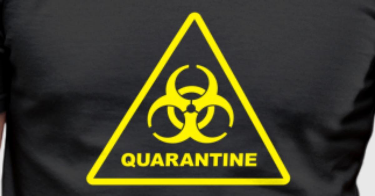 Biohazard Quarantine Zone Zombie Danger By Grifondora Spreadshirt