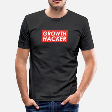 Vekst vekst Hacker - Slim Fit T-skjorte for menn