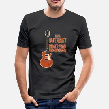Gitarist Awesome GITARIST - Muziek - slim fit T-shirt