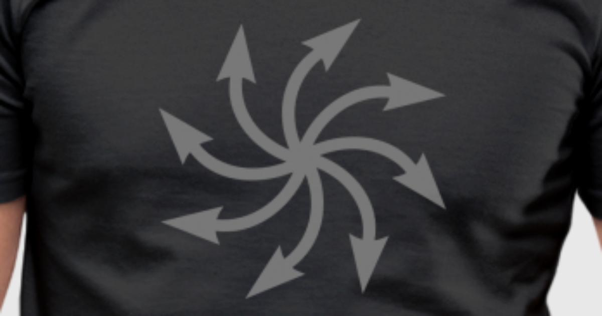 Symbol Of Chaos Chaos Star Vector Everything Has Meaning And