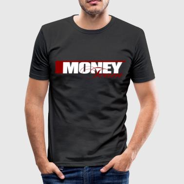 Ymcmb Money  - Männer Slim Fit T-Shirt