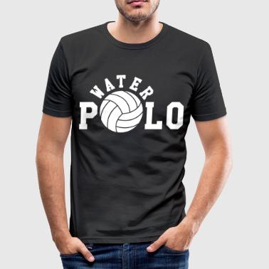 Polo Sprüche Water Polo - Männer Slim Fit T-Shirt