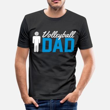 Volleyball Gracioso Volleyball Dad - Camiseta ajustada hombre