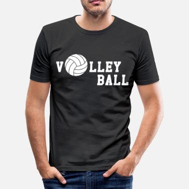Beach Handball Volleyball - Männer Slim Fit T-Shirt