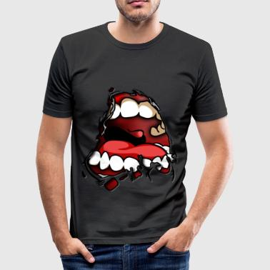 EPIC MOUTH - Men's Slim Fit T-Shirt