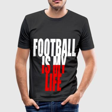 football is my life pologne - Men's Slim Fit T-Shirt