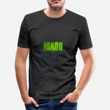 Jakob James - Men's Slim Fit T-Shirt