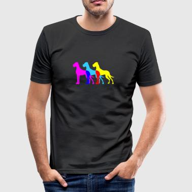Doggen - Männer Slim Fit T-Shirt