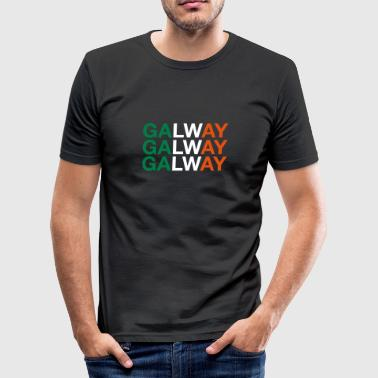 GALWAY - Männer Slim Fit T-Shirt