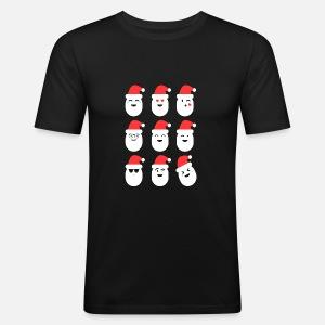 T Homme de Emojis shirt de Père premium chemise Noël Drôle Noël x6qda0vwUv