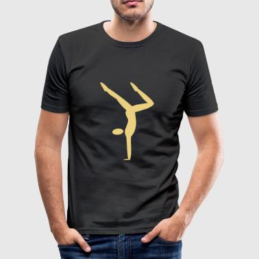 Handstand - Männer Slim Fit T-Shirt