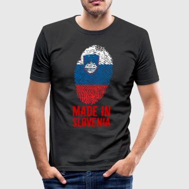 Made in Slovenia / Made in Slovenia Slovenija - Men's Slim Fit T-Shirt