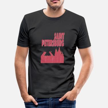 Saint Petersburg Saint Petersburg City - Men's Slim Fit T-Shirt
