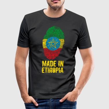 Etiopien Made In Etiopien / Etiopien / ኢትዮጵያ - Herre Slim Fit T-Shirt