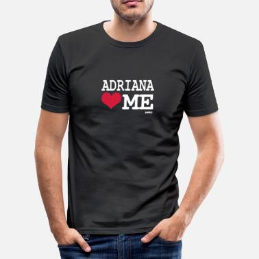 Adriana adriana loves me - slim fit T-shirt