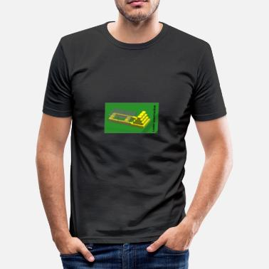 Konstruktion konstruktion - Herre Slim Fit T-Shirt