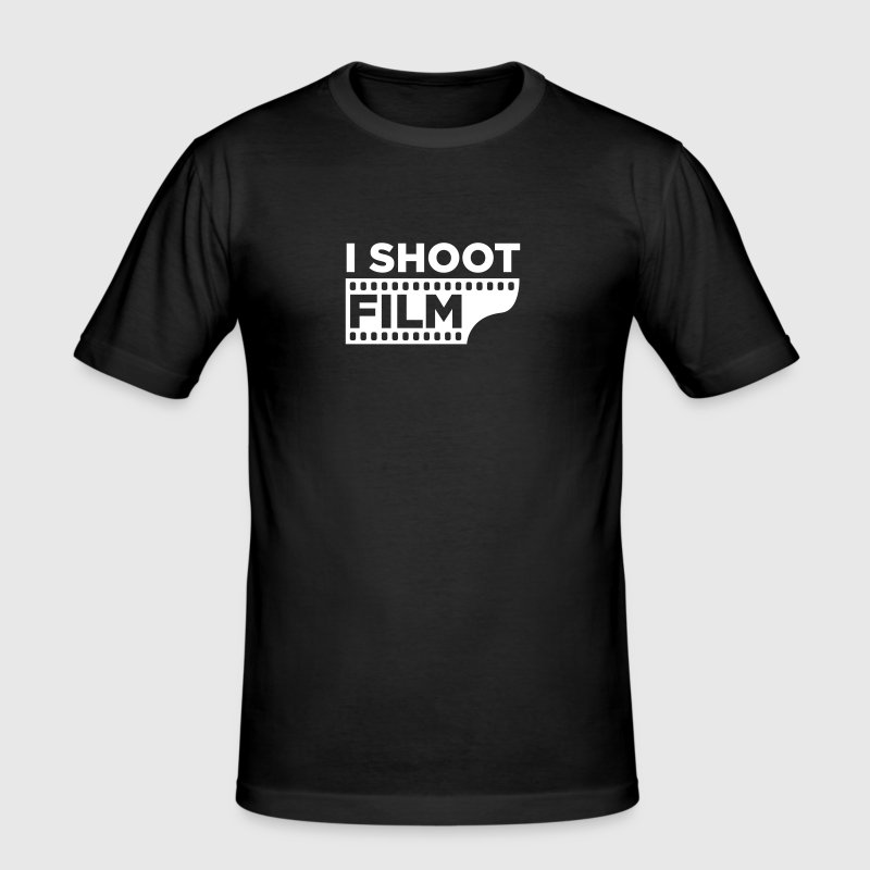 I SHOOT FILM - Männer Slim Fit T-Shirt