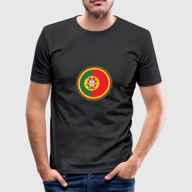 portugal - Männer Slim Fit T-Shirt