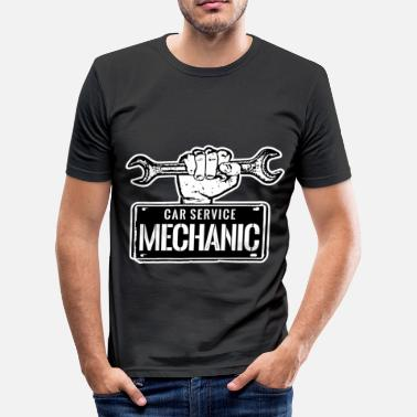 Job Mechaniker Mechaniker Berufe und Jobs - Männer Slim Fit T-Shirt