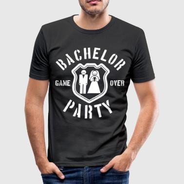 utdrikningslag - bachelorette party - JGA - Slim Fit T-skjorte for menn