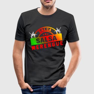 Merengue Salsa y merengue - Camiseta ajustada hombre