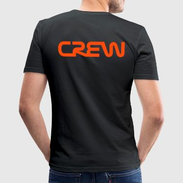 Crew tekst - slim fit T-shirt