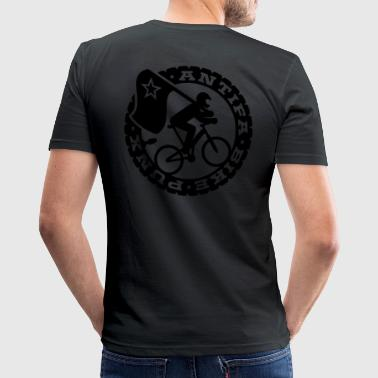 Antifa Bike Punks - Männer Slim Fit T-Shirt