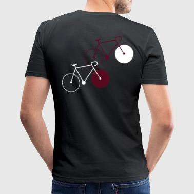 bike singlespeed fixie bicycle - Men's Slim Fit T-Shirt