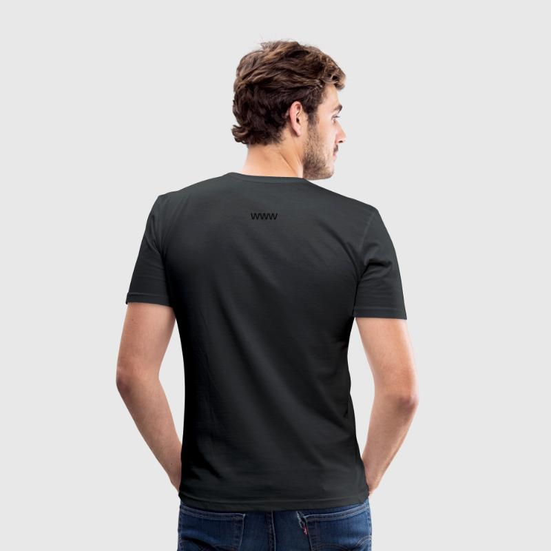 alpenrock & blues Hirsch - Männer Slim Fit T-Shirt