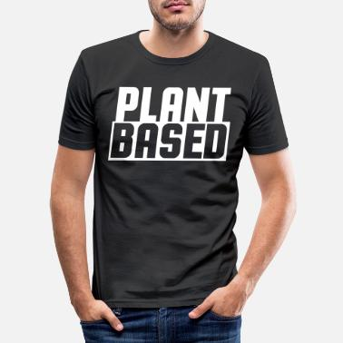 Plant Plant based - Men's Slim Fit T-Shirt