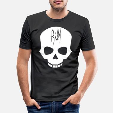 Horror horror - Slim fit T-skjorte for menn