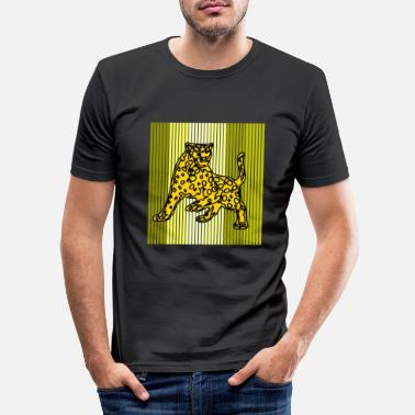 Leopard leopard - Men's Slim Fit T-Shirt