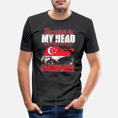 Patriot The Voices in My Head Singapore - Men's Slim Fit T-Shirt