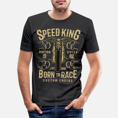 King Speed King 1982 - Motorcycle - Men's Slim Fit T-Shirt