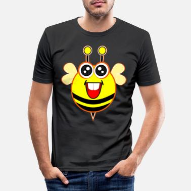 Honey Bee Bumblebee - Bee Insects Summer Sweet Kids Shirt - Men's Slim Fit T-Shirt