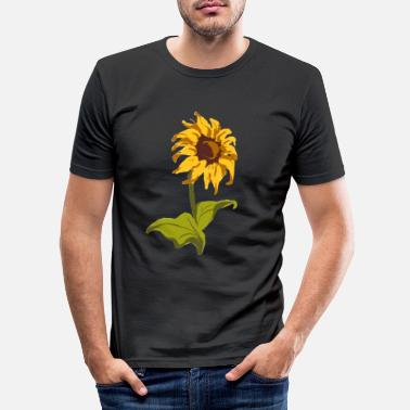 Style Sunflower Classic gift for florists - Men's Slim Fit T-Shirt