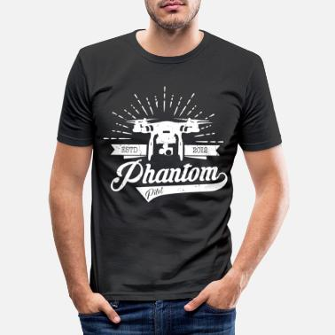 Phantom PHANTOM PILOT - Männer Slim Fit T-Shirt