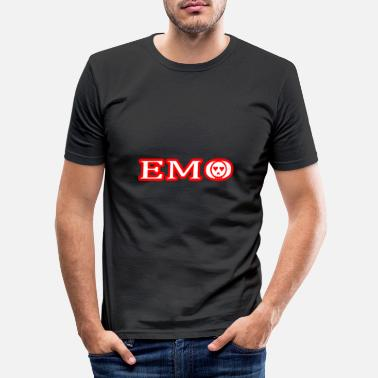 Emo EMO - Männer Slim Fit T-Shirt